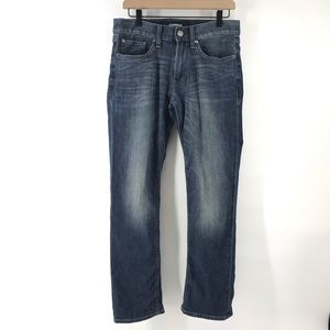 Slim Straight Stretch + Express Jeans 30x30
